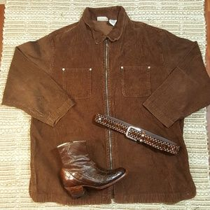 💝Ladies Corduroy Jacket Sz 20/22